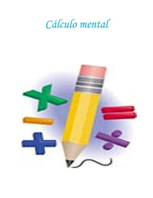 Cálculo mental 2