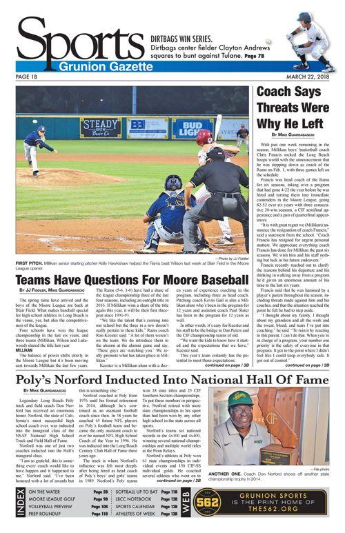 Gazette Sports 3-22-18