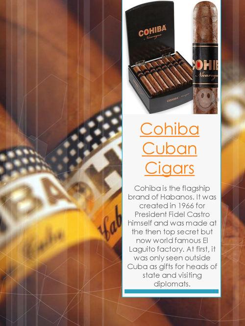 Cohiba Cigar