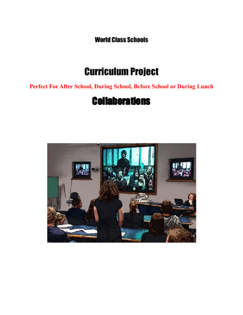 World Class Schools Collaboration Projects