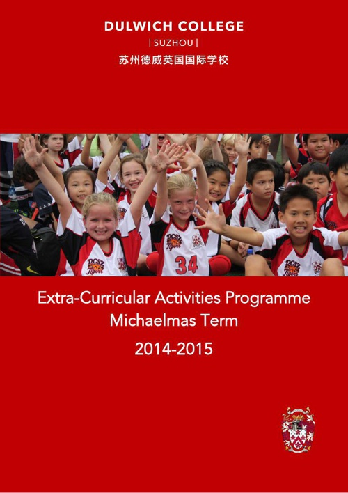 ECA Booklet Michaelmas Term