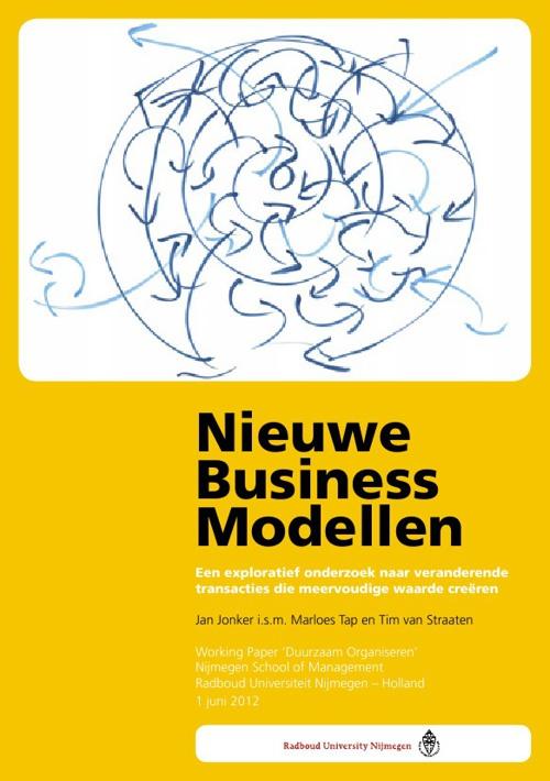 Nieuwe businessmodellen