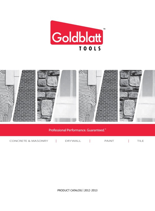 Goldblatt Tools Catalog