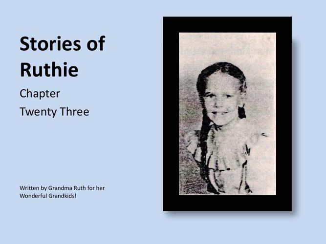 Stories of Ruthie - book 23