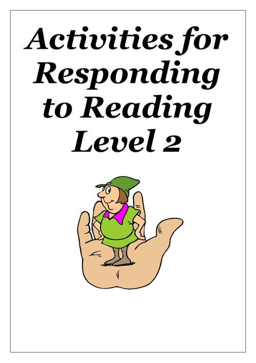 Copy of Reading Activites for Working Towards Level 2