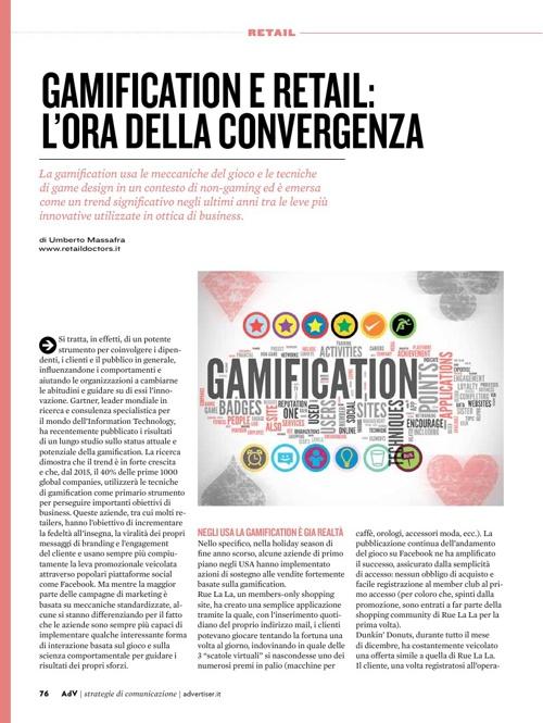 Gamification e retail: l'ora della convergenza
