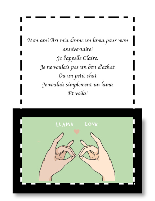 French Poem: Ella Morgan  Pd 4