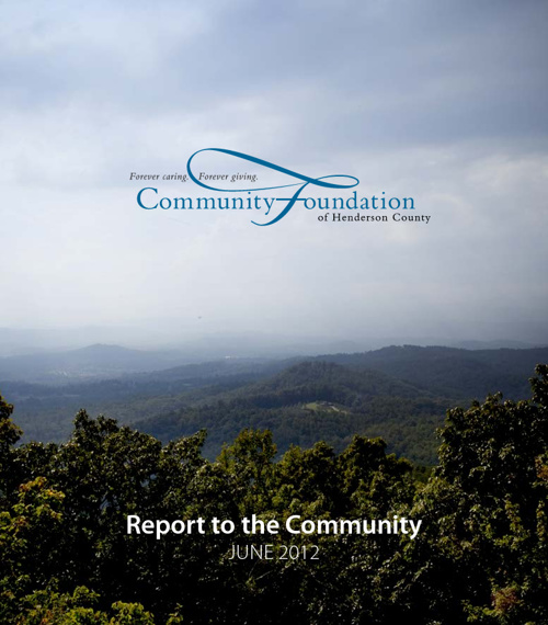 Community Foundation - 2012 Report to the Community