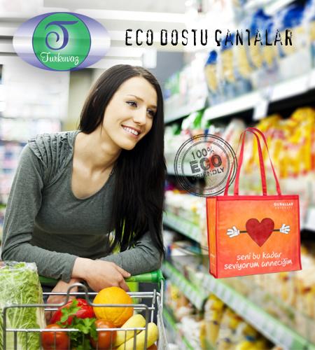 Turkuvaz Eco Dostu Cantalar