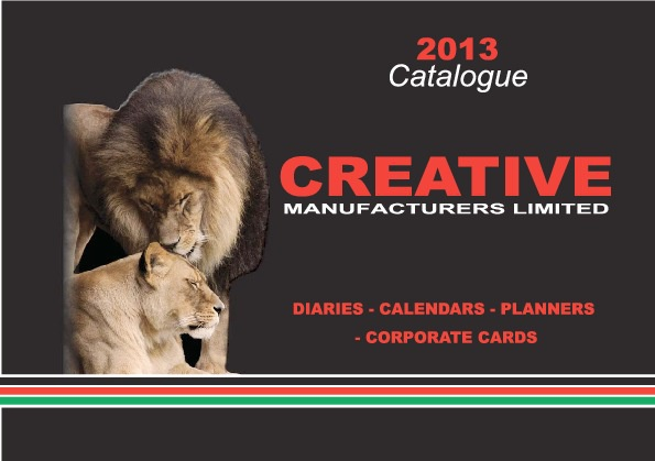 Creative Manufacturers Ltd Diaries & Calendars 2013 Catalogue