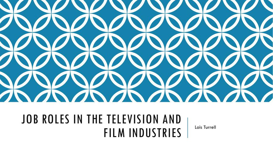 Job roles in the television and film industriesFINish