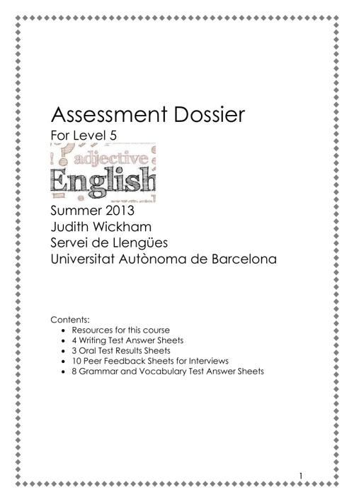 assessment dossier (printable)