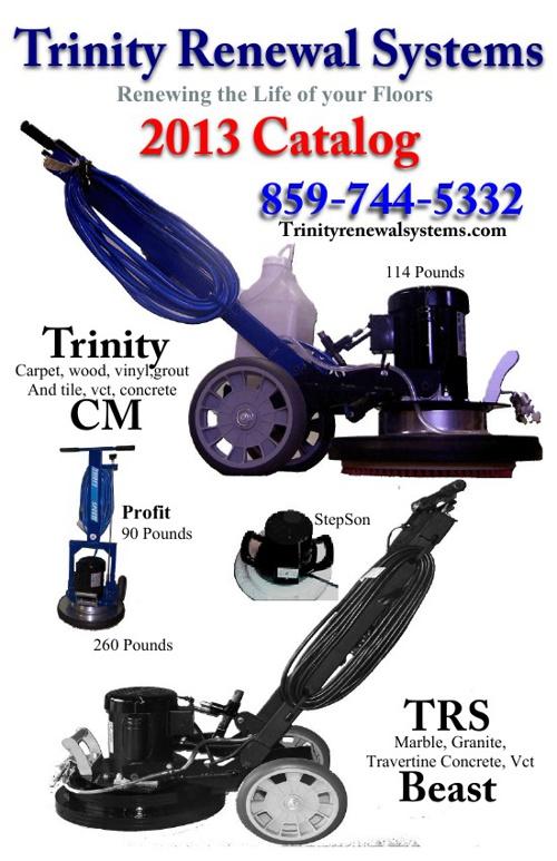 2013 Trinity Renewal Systems Catalog