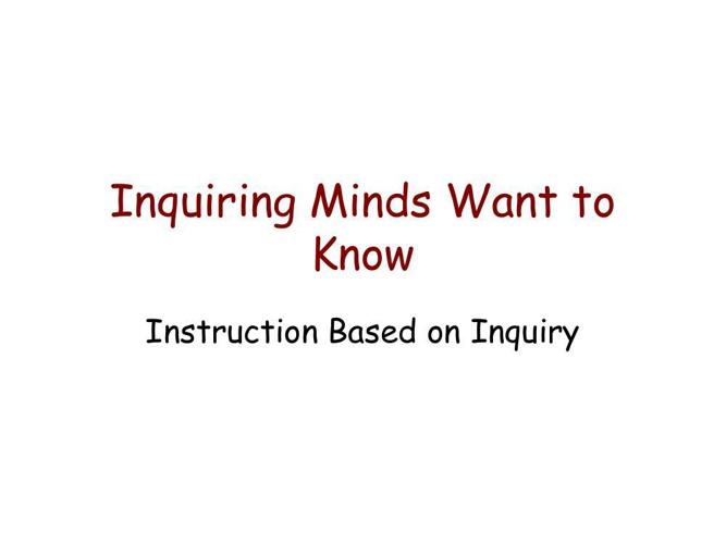 Inquiry Presentation 2