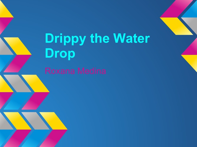 Drippy the Water Drop