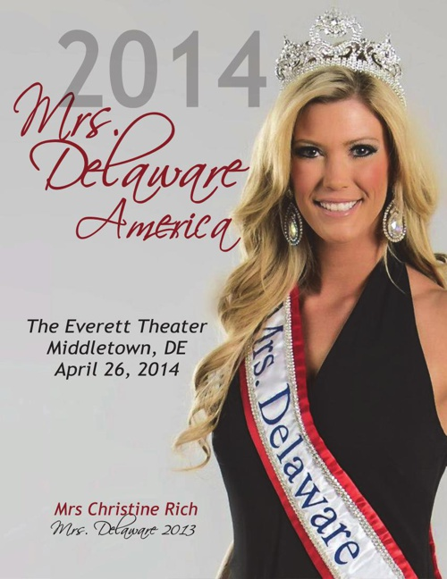 2014 Mrs. Delaware Program Book