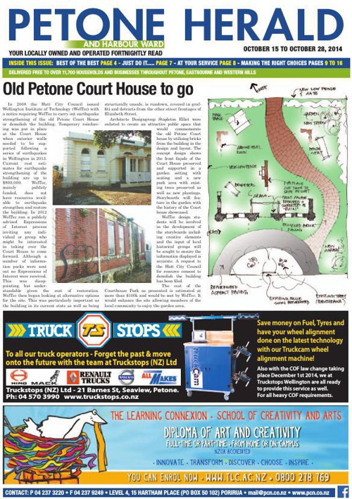 Petone Herald 15 October 2014