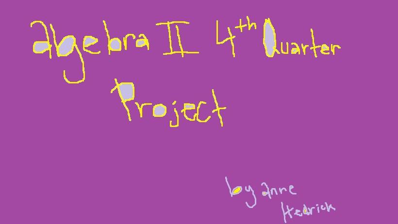 algebra project