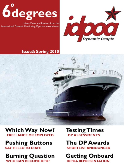 IDPOA 6degrees Issue 3 Spring 2010