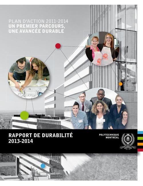Rapport de durabilité 2013-2014