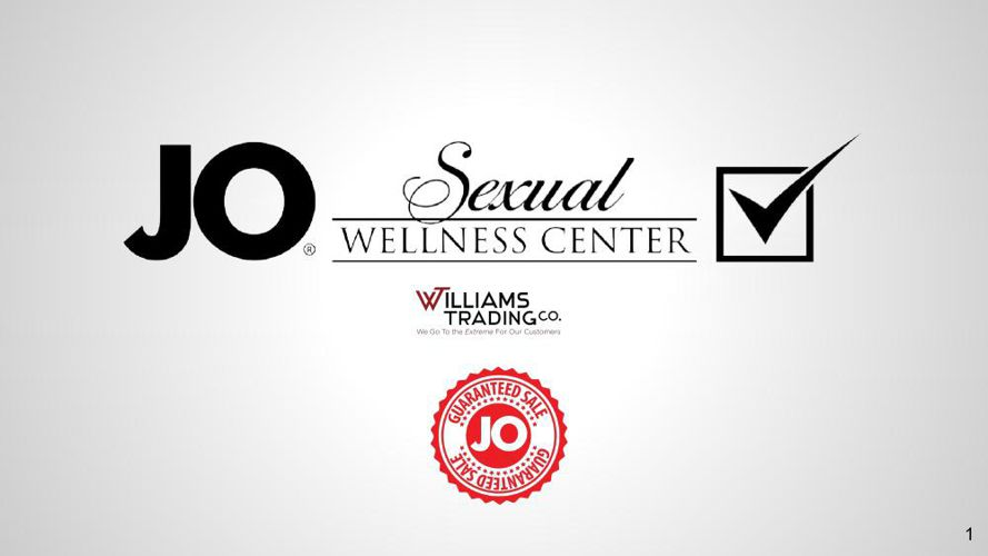 Fast Start System Jo Sexual Wellness Center