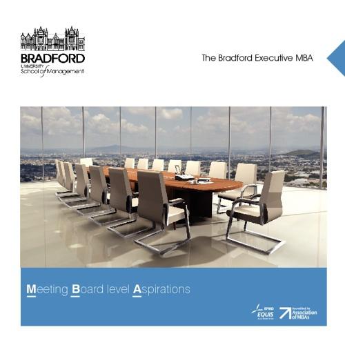 Bradford Executive MBA