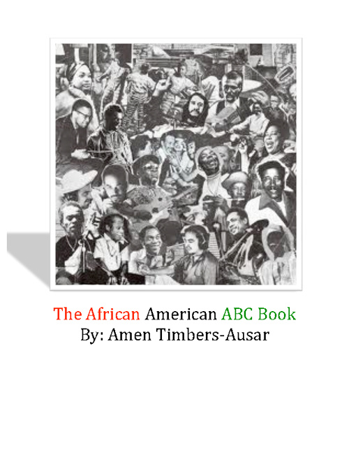 African American ABC Book By Amen Ausar