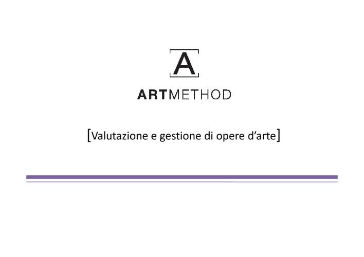 Presentazione Art Method