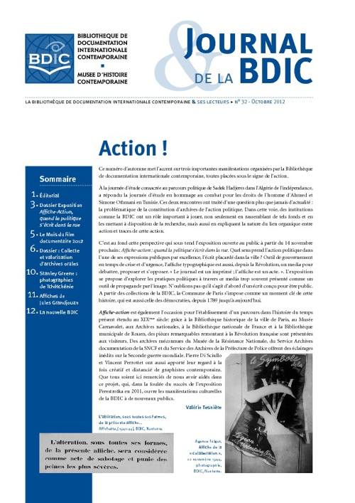 Journal de la BDIC n°32