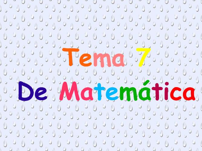 4º PARTE TEMA 7