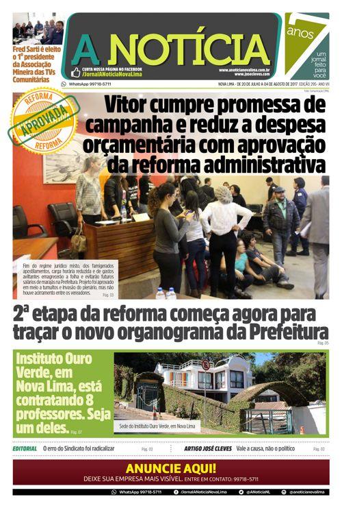 Jornal A Notícia - Edição 295-web