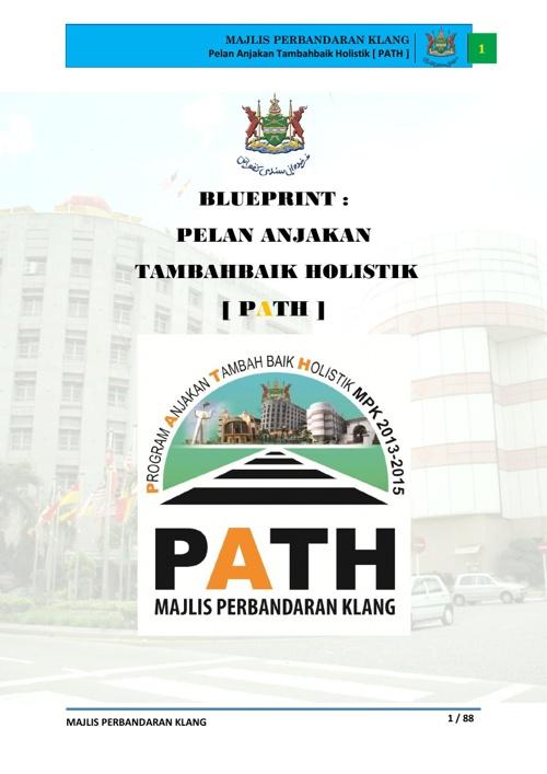 PELAN ANJAKAN TAMBAHBAIK HOLISTIK (PATH) - MPklang