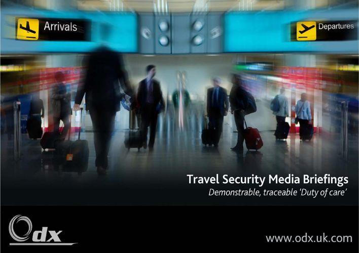 OdX Travel Risk Service