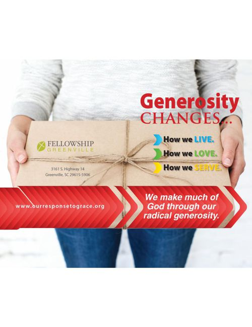 Generosity Changes...