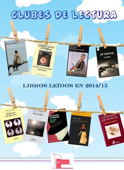 Clubes de lecturaLibros leídos y los que nos quedan por leer