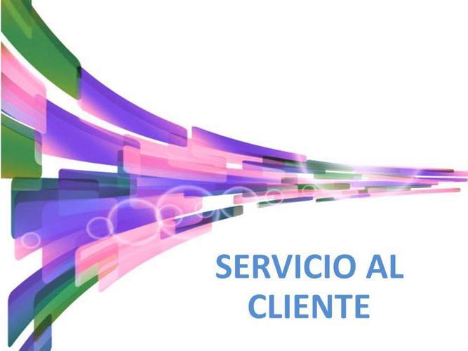 CARTILLA SERVICIO AL CLIENTE PARTE 1