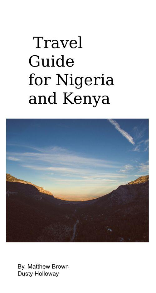 Brochure of Nigeria and Kenya