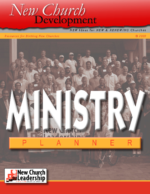 Writing a Ministry Plan