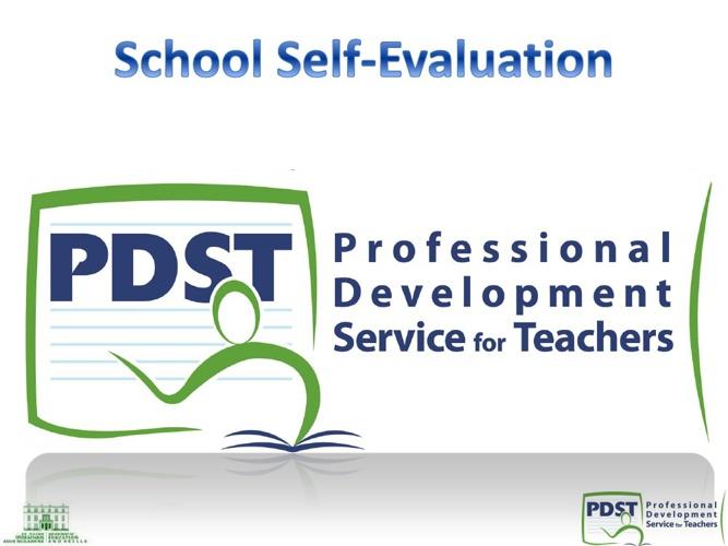 School Self-Evaluation Slideshow 2013