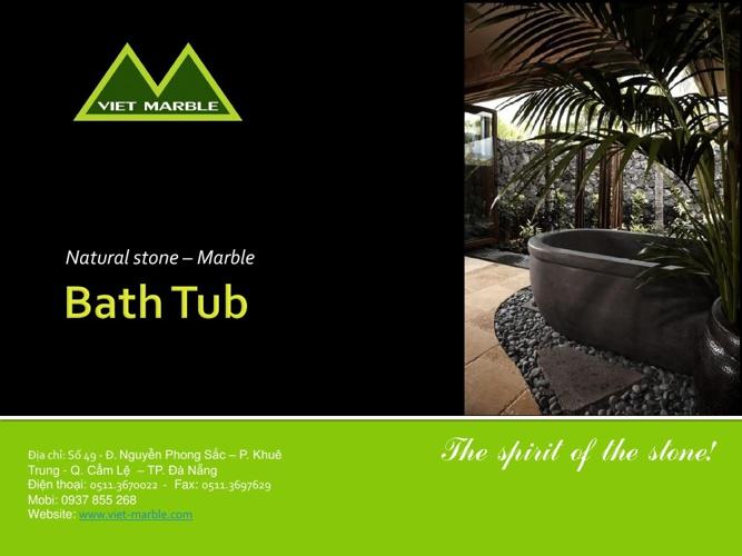 Viet marble bathtub