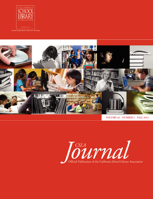 CSLA Journal v35(2) FALL 2012