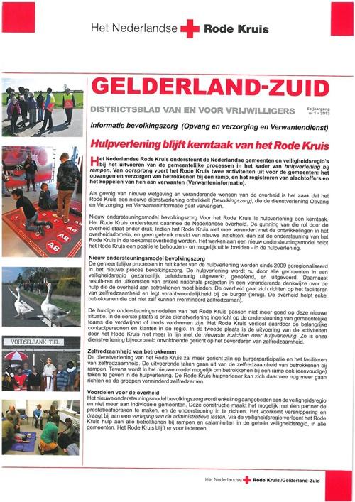 Districtsblad Gelderland-Zuid juni 2013