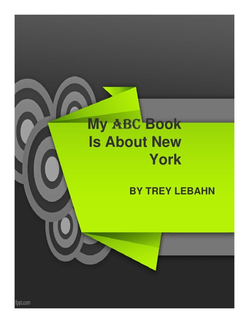Trey L ABC Book