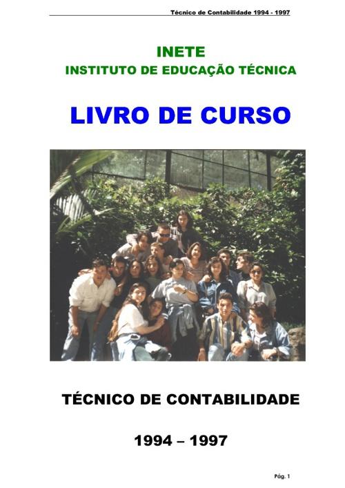 Livro de Curso do INETE 94 - 97