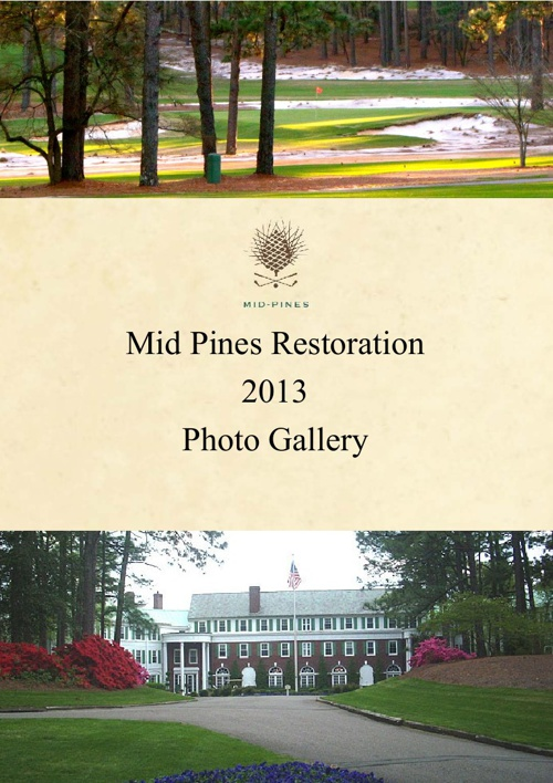Mid Pines Restoration Before & After Pictures