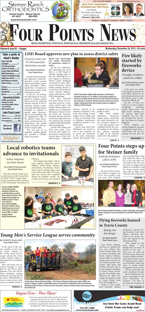 Four Points News December 26 2012 Issue