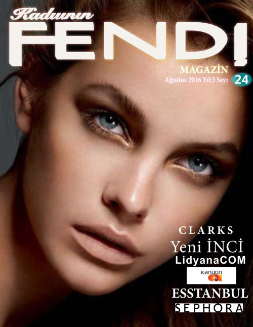 Fendi Magazin Aug