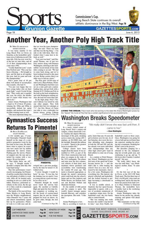 Gazette Sports | June 6, 2013