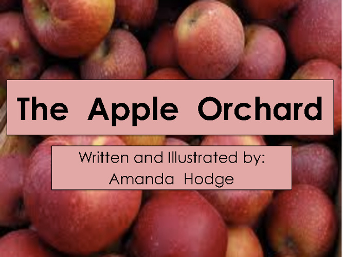 The Apple Orchard by Amanda Hodge