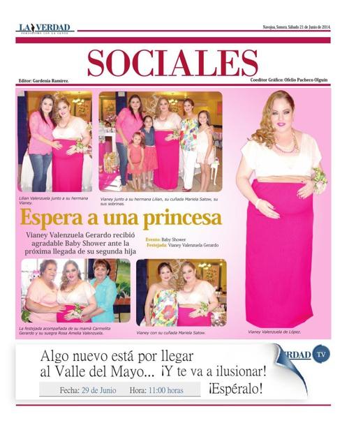 SOCIALES  21 JUNIO 2014